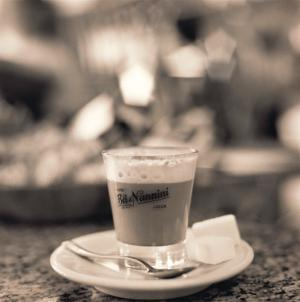 Caffe, Lucca by Alan Blaustein