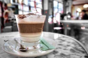 Capuccino, Montmartre by Alan Blaustein