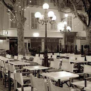 Cote d'Azur Cafe I by Alan Blaustein