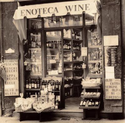 Enoteca, Toscana by Alan Blaustein