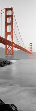 Golden Gate Bridge at Dawn (A) by Alan Blaustein
