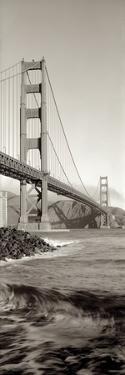 Golden Gate Bridge Pano #2 by Alan Blaustein