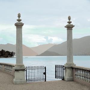 Harbor Garden Gates by Alan Blaustein