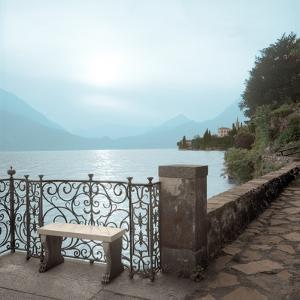 Lake Vista #1 color by Alan Blaustein