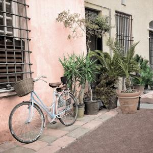 Liguria Bicycle #2 by Alan Blaustein