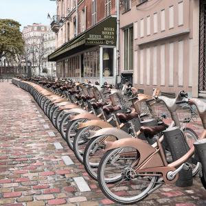 Paris City Ride #2 by Alan Blaustein