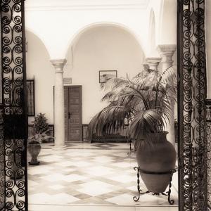 Patio el Convento by Alan Blaustein