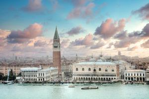 Piazza San Marco Panoramic Vista #1 by Alan Blaustein