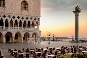 Piazza San Marco Sunrise #4 by Alan Blaustein