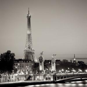 Pont Alexandre Trios by Alan Blaustein
