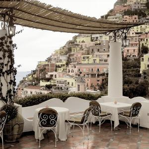 Positano Caffe #1 by Alan Blaustein