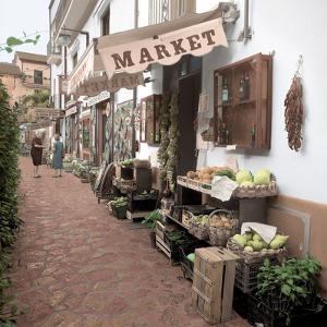 Ravello Market #1 by Alan Blaustein