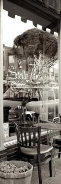 San Francisco Cafe Pano #3 by Alan Blaustein