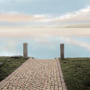 Sunrise Harbor Vista #1 by Alan Blaustein