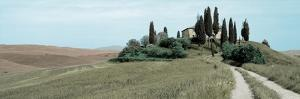 Val d'Orcia Pano #4 by Alan Blaustein
