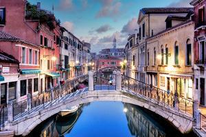 Venetian Canale #15 by Alan Blaustein
