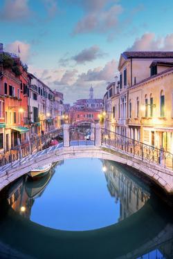 Venetian Canale #16 by Alan Blaustein