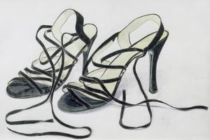 Black Strappy Shoes, 1997 by Alan Byrne