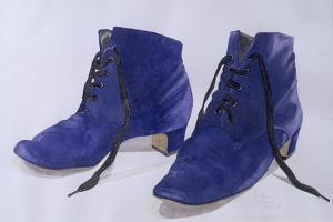 Blue Shoes, 1997 by Alan Byrne
