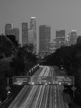 California, Los Angeles, Route 110, USA by Alan Copson