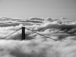 California, San Francisco, Golden Gate Bridge, USA by Alan Copson