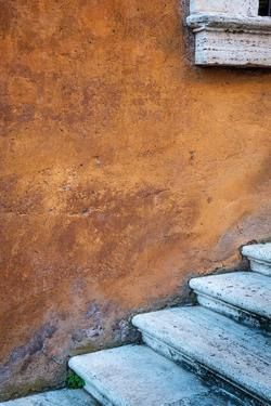 Capitoline Hill Steps by Alan Copson