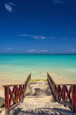 Caribbean, Antigua, Dickinson Bay, Dickinson Bay Beach by Alan Copson