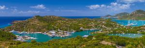 Caribbean, Antigua, English Harbour from Shirley Heights by Alan Copson