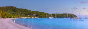 Caribbean, Antigua, Freeman's Bay, Galleon Beach at Dusk by Alan Copson