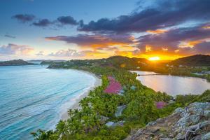 Caribbean, Antigua, Galley Bay, Galley Bay Beach, Sunrise by Alan Copson