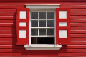 Caribbean, Antigua, St. John'S, Heritage Quay, Traditional Shutters by Alan Copson