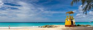 Caribbean, Barbados, Oistins, Miami Beach or Enterprise Beach, Lifeguard Lookout by Alan Copson