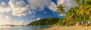 Caribbean, British Virgin Islands, Tortola, Cane Garden Bay, Cane Garden Bay Beach by Alan Copson