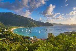Caribbean, British Virgin Islands, Tortola, Cane Garden Bay by Alan Copson