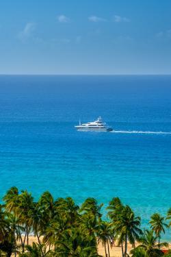 Caribbean, British Virgin Islands, Tortola, Lambert Bay, Lambert Bay Beach by Alan Copson