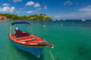 Caribbean, Martinique, Pointe Du Bout, Anse Mitan by Alan Copson
