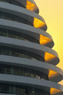 China, Beijing, Chaoyangmen South Street, Galaxy Soho by Architect Zaha Hadid by Alan Copson
