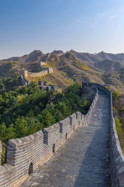 China, Hebei Province, Luanping County, Jinshanling, Great Wall of China by Alan Copson