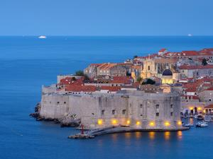 Croatia, Dalmatia, Dubrovnik, Old Town (Stari Grad) by Alan Copson