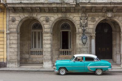 Cuba, Havana, La Habana Vieja, Prado or Paseo de Marti by Alan Copson