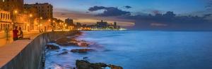 Cuba, Havana, The Malecon by Alan Copson
