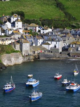 England, Cornwall, Port Isaac, UK by Alan Copson