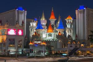 Excalibur Hotel and Casino, Las Vegas, Nevada, United States of America, North America by Alan Copson