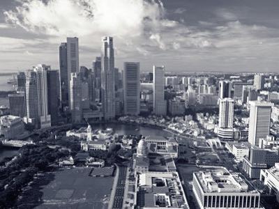 Financial District, Singapore by Alan Copson