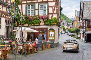 Germany, Rhineland Palatinate, Bacharach by Alan Copson