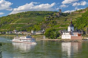 Germany, Rhineland Palatinate, River Rhine by Alan Copson