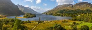 Glenfinnan Monument to the 1745 Landing of Bonnie Prince Charlie at Start of the Jacobite Rising by Alan Copson