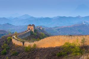 Gubeikou to Jinshanling Section of the Great Wall of China by Alan Copson