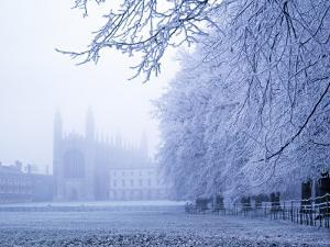 Kings College and Chapel, Cambridge, England by Alan Copson