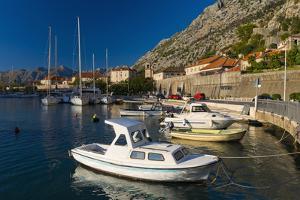 Kotor Marina, Kotor, Bay of Kotor, Montenegro, Europe by Alan Copson